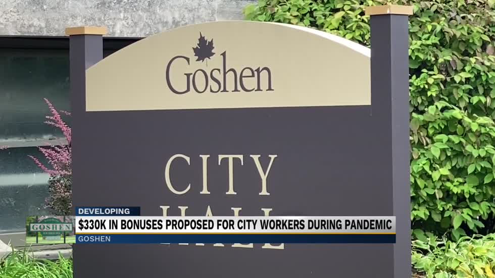 $330k in bonuses proposed for city workers during pandemic