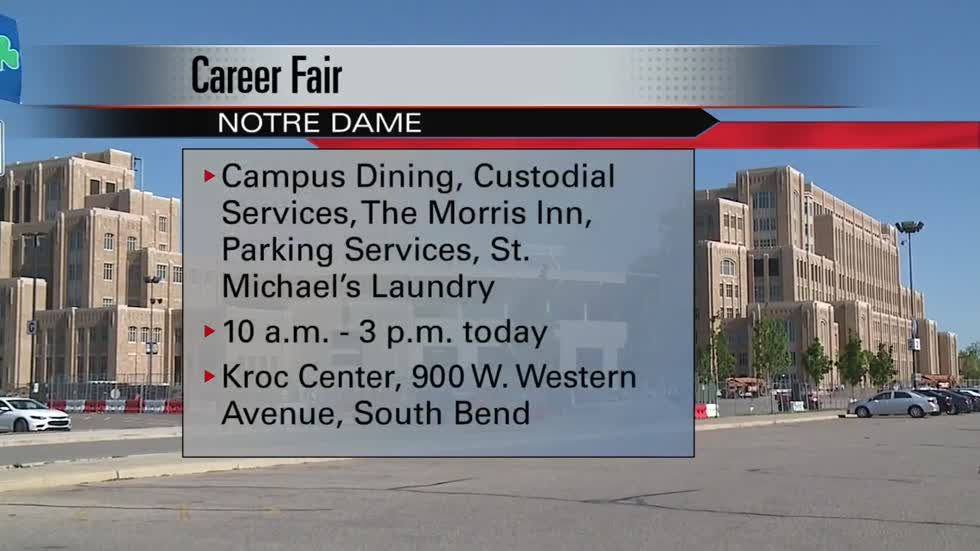 University of Notre Dame to host job fair