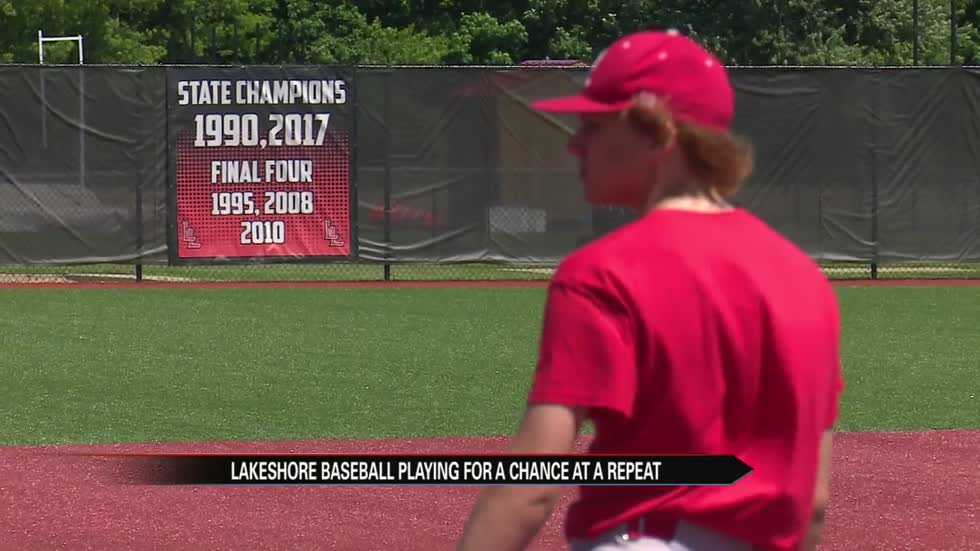 Lakeshore baseball keeping routine as they hunt a state repeat