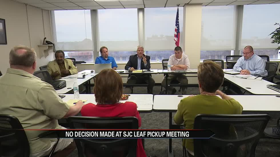Meeting held on St.Joseph County leaf pick-up program