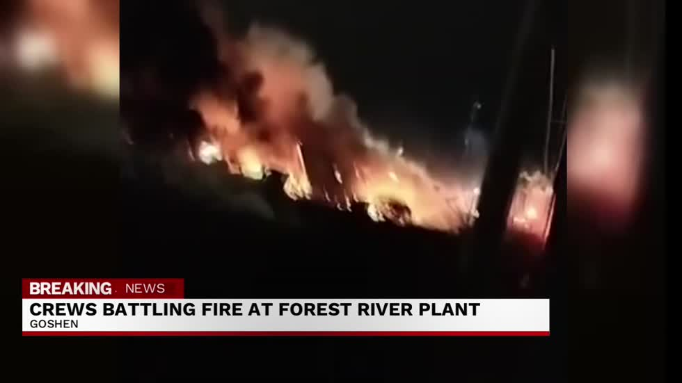11 p.m. Forest River fire
