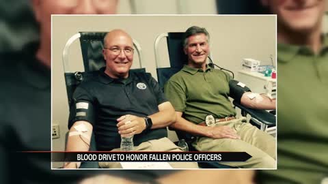 11th annual blood drive held to honor fallen Indiana police officers
