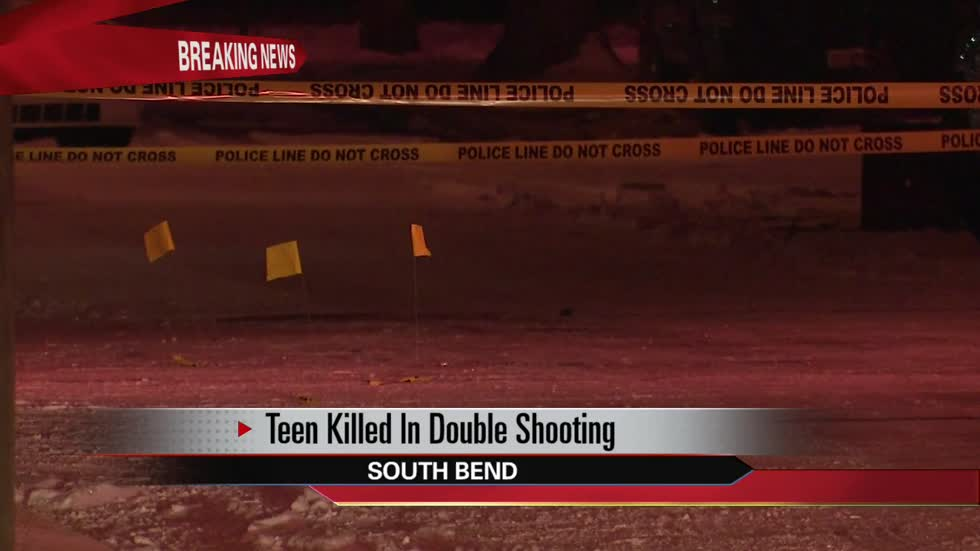 16-year-old killed in double shooting on Brookfield Street in South Bend