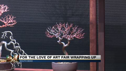 For The Love of Art weekend fair draws crowds