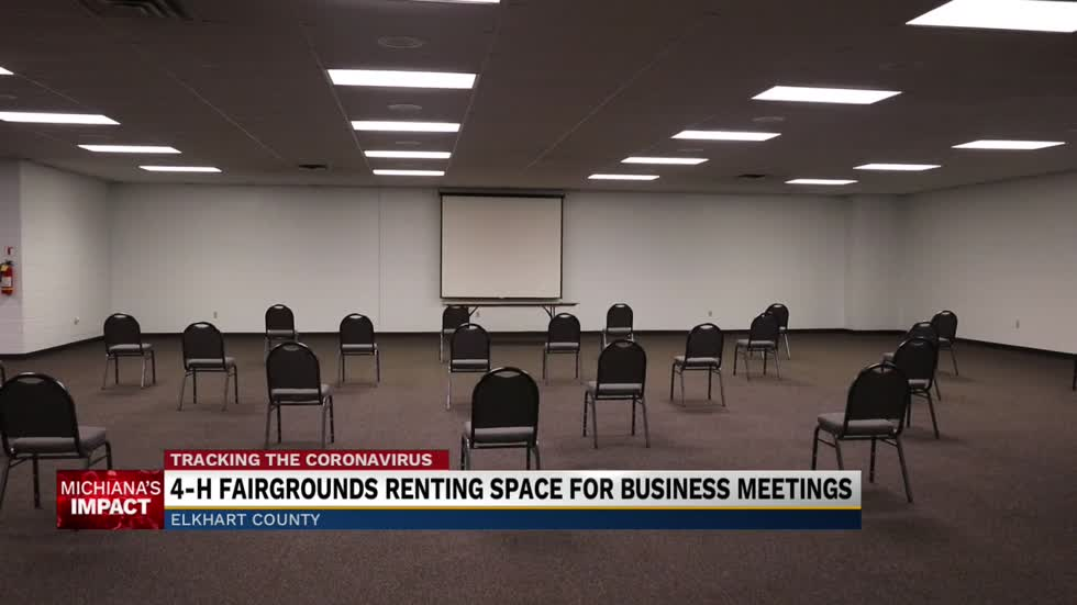 4-H Fairgrounds renting space for business meetings