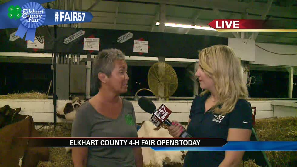 Friday is opening day for the Elkhart County 4-H Fair