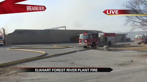 5:30 Firefighters battling fire at Forest River plant 59 in Elkhart