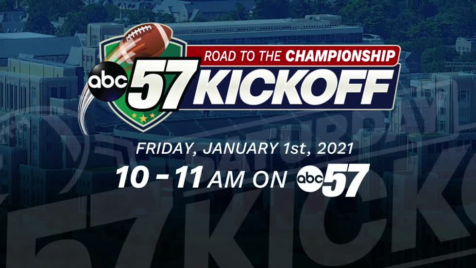 Coming up on ABC57 Kickoff: Road to the Championship on Friday