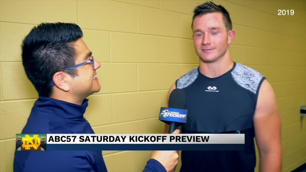 Coming up on this week's ABC57 Saturday Kickoff