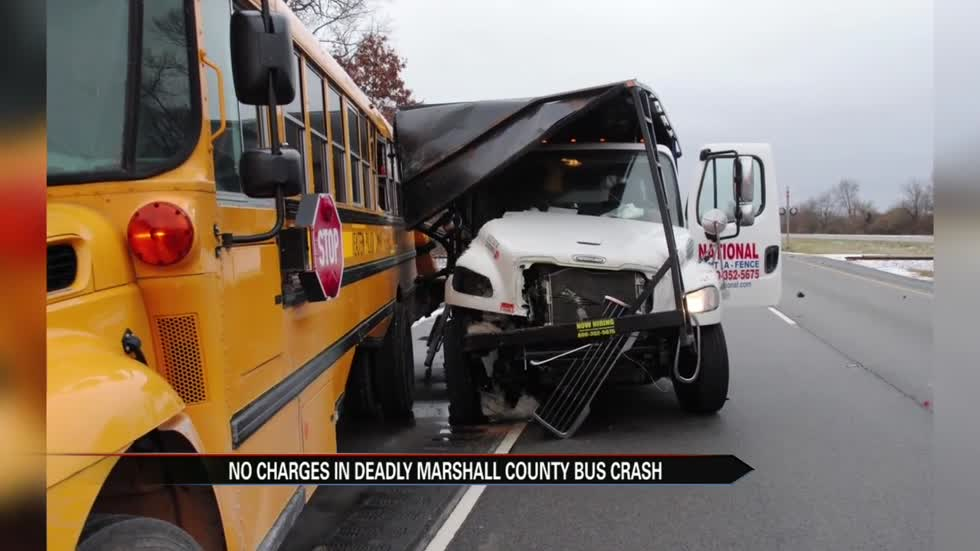 Driver in fatal bus crash on US 31 won't face charges