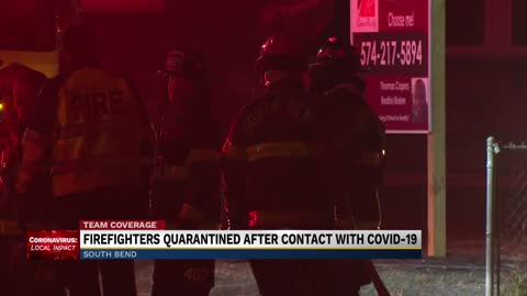 5 South Bend firefighters in quarantine after exposure to COVID-19...
