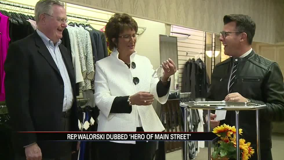 Congresswoman Walorski recognized as hero of small businesses