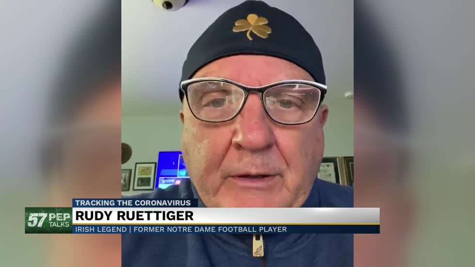 57 Pep Talks: Former Notre Dame player Rudy Ruettiger