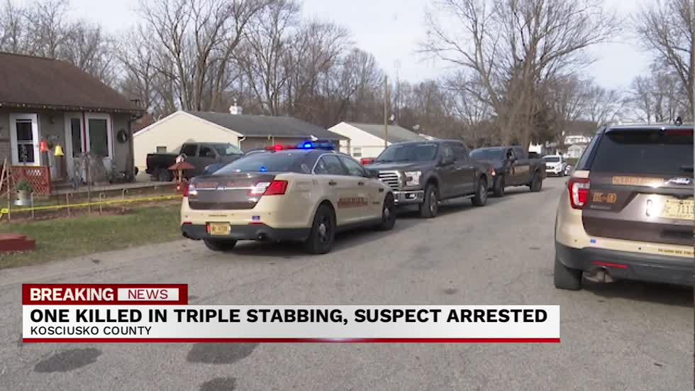 6 p.m. One dead two injured in stabbing