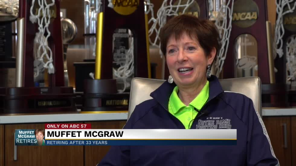 One on one with Coach Muffet McGraw after retirement announcement