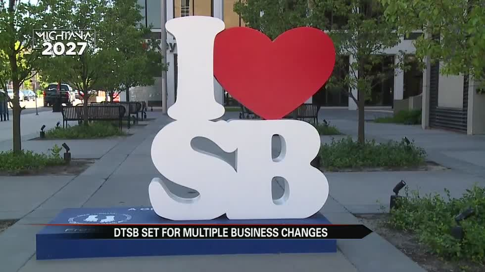 Game of growth in South Bend, businesses on every corner