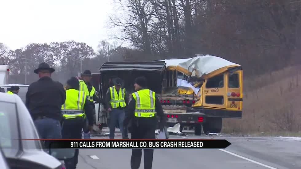 911 calls from fatal Marshall County school bus crash released