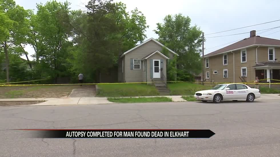 Autopsy completed for man found dead in Elkhart