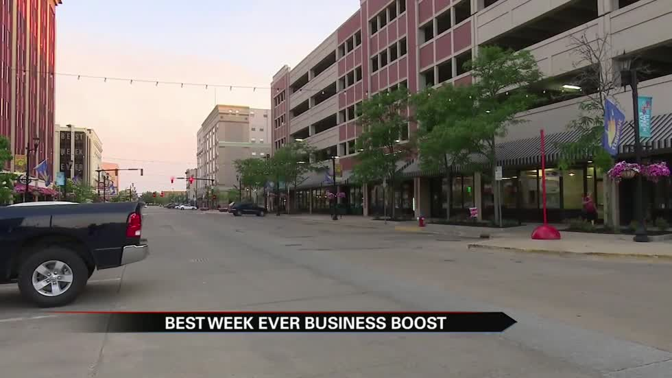 Businesses benefit from Best. Week. Ever.