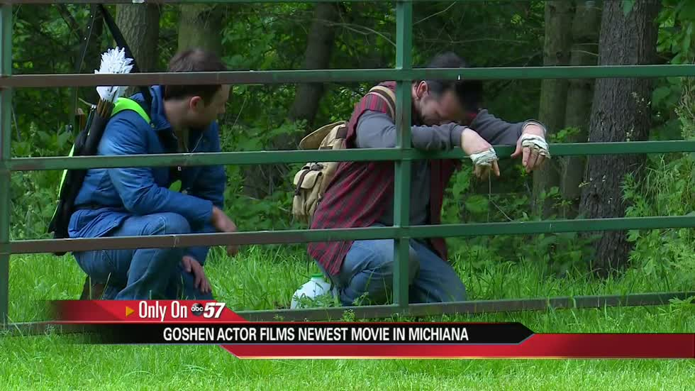 Goshen actor returns to Michiana for new film, inspires local girl