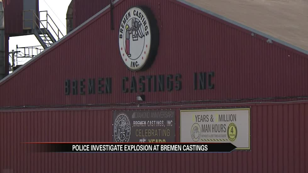 No injuries in explosion at Bremen Castings
