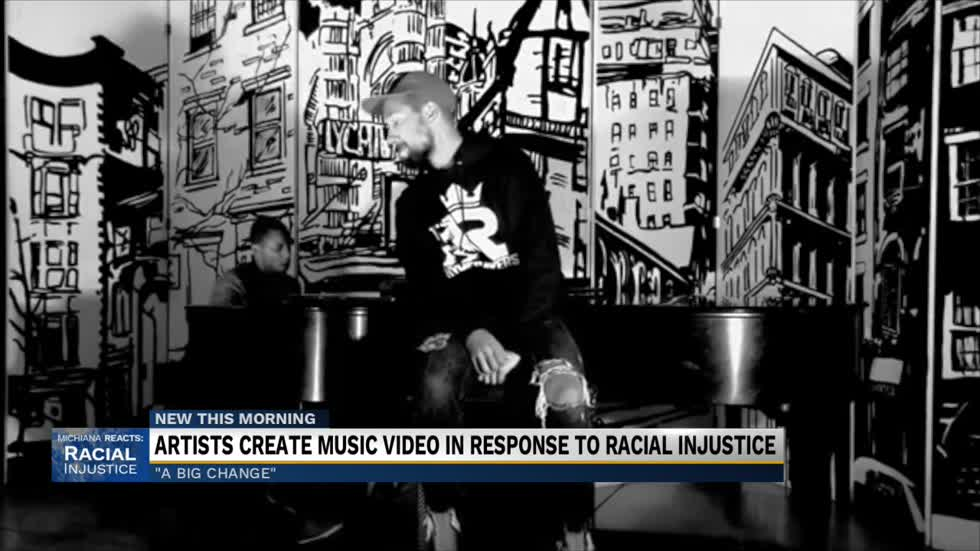 A Big Change: Artists collaborate on song in response to racial injustice