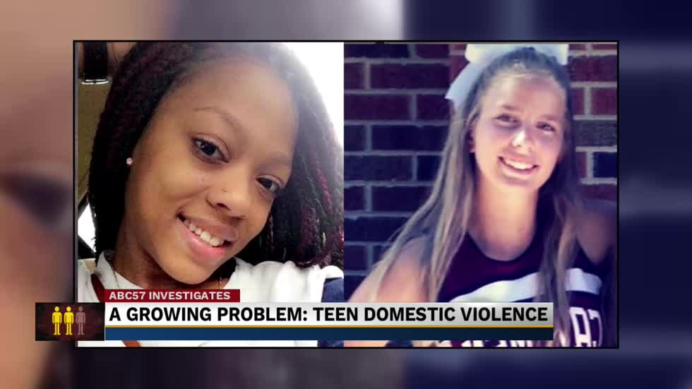 teen dating violence story