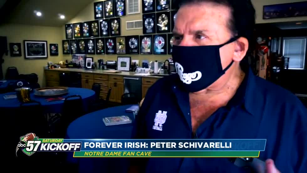 A peek inside Peter Schivarelli's Fan Cave