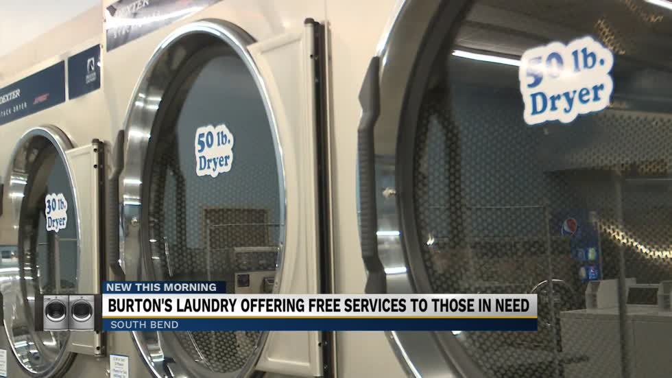 Burton's Laundry offering free services to those in need