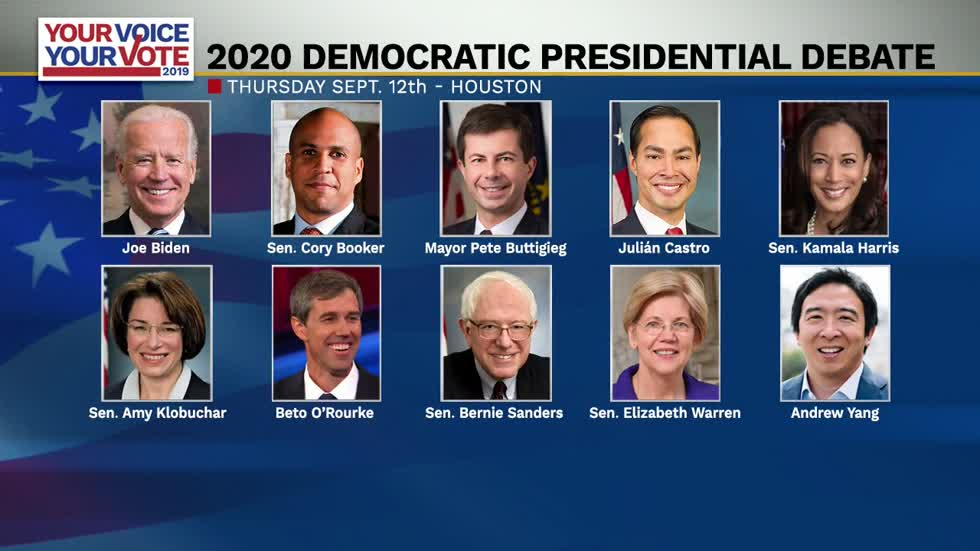 ABC News announces podium order for third Democratic debate