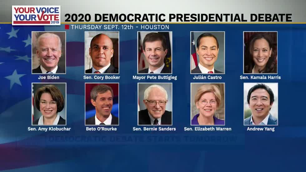 ABC57 live in Texas for third Democratic Debate