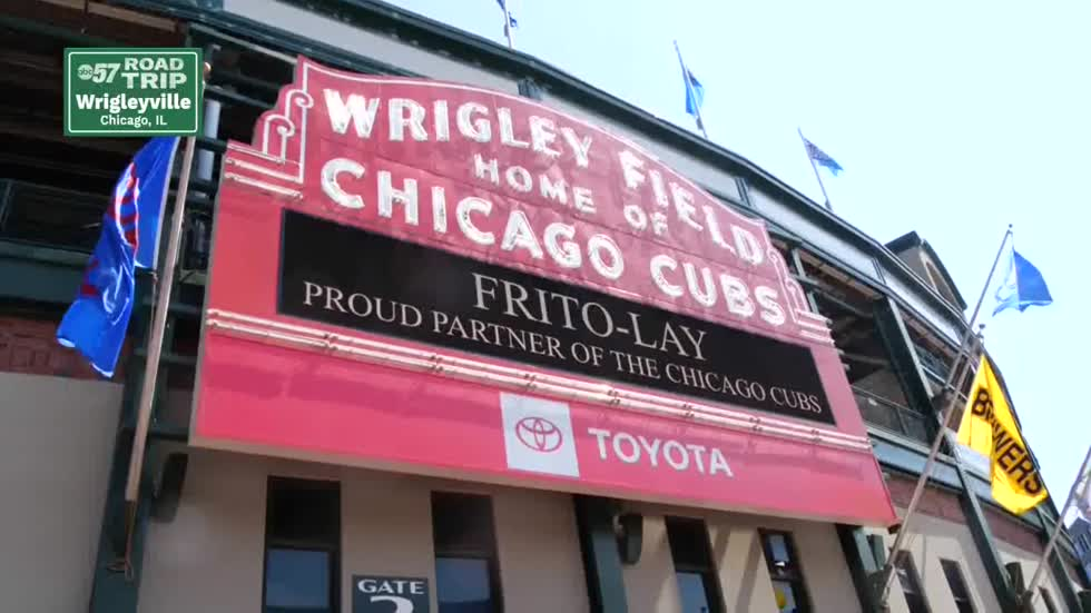 ABC57 Road Trip: Chicago Cubs game