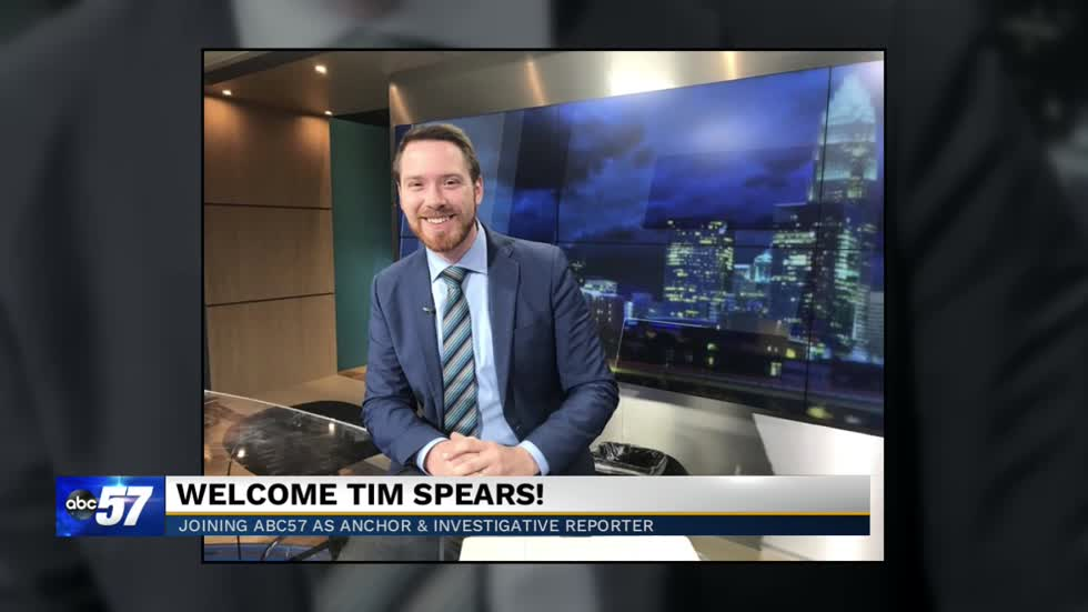 ABC57 welcomes Tim Spears, our newest Evening Anchor and Investigative Reporter