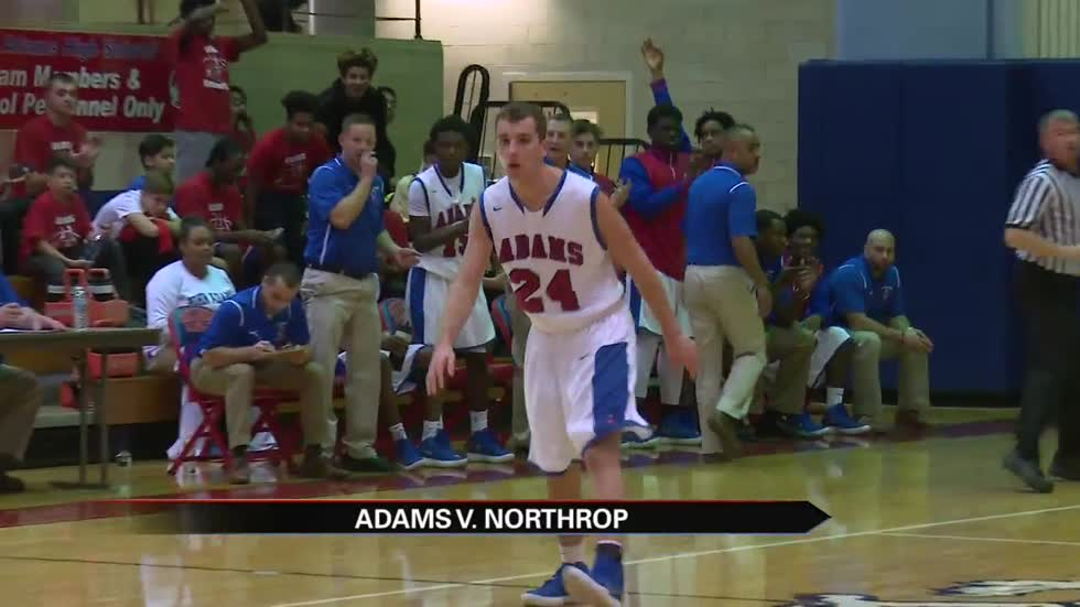 Adams boys beat Northrop for second win in two days