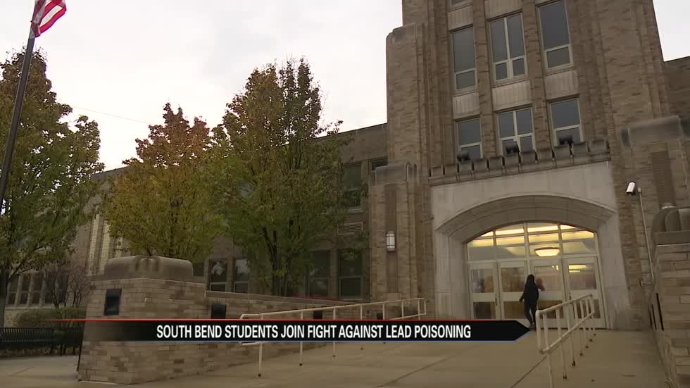 Adams High School students join fight against lead poisoning