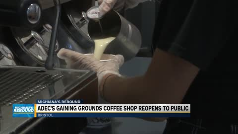 ADEC's Gaining Grounds coffee house in Bristol reopens