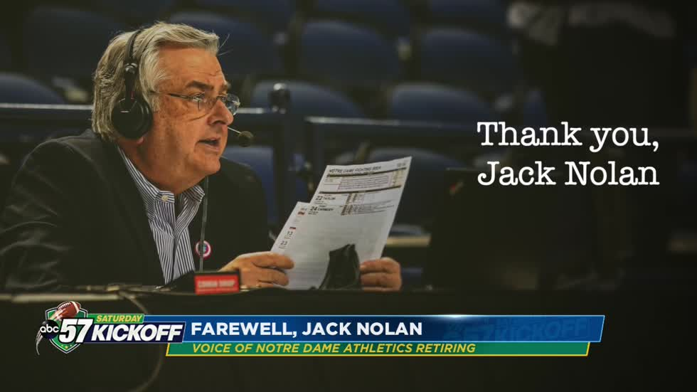After 39 years, Jack Nolan retires from Notre Dame