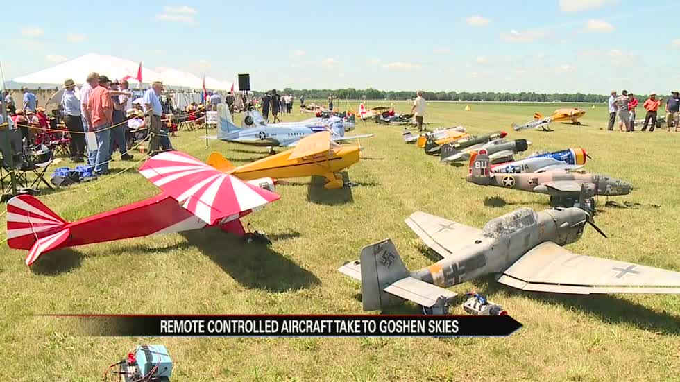 Air Supremacy event showcases historic model aircrafts
