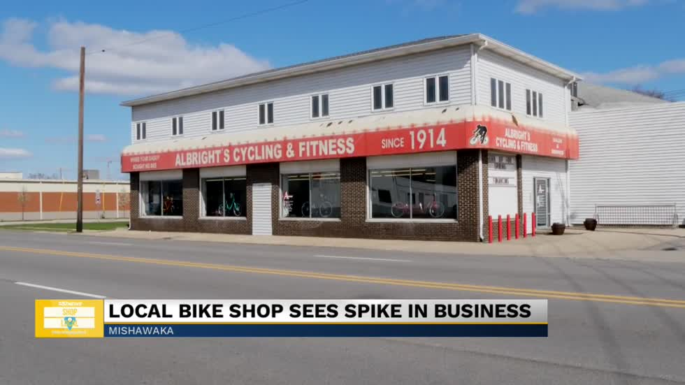 Albright's Cycling & Fitness open for bike repairs and necessities during pandemic