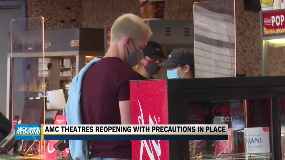 AMC theatres reopening with precautions in place