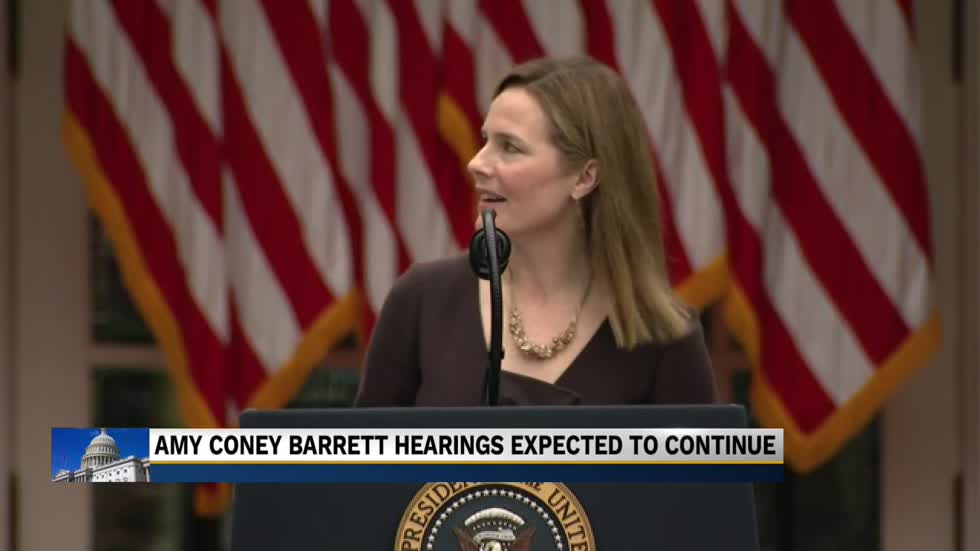 Amy Coney Barrett's confirmation hearings to go on as planned