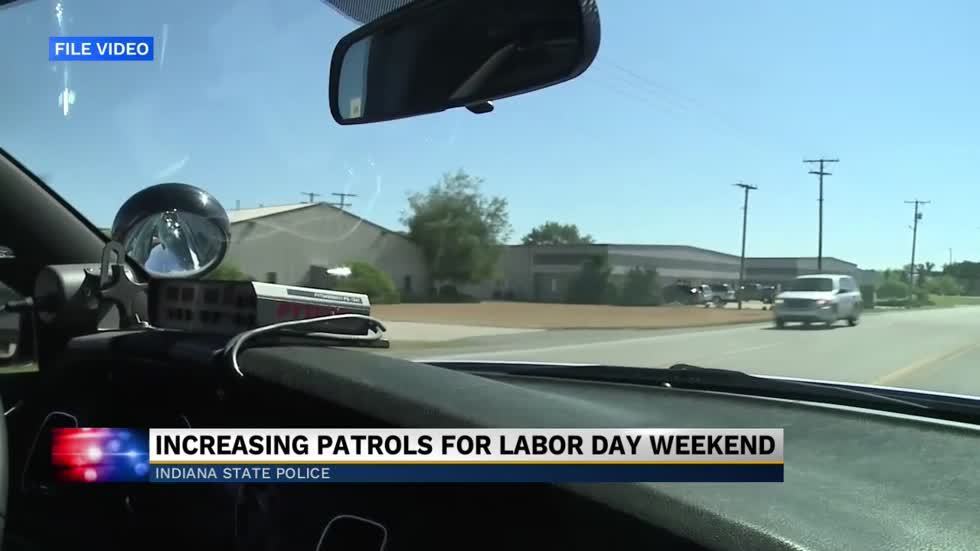 An increase in officers patrolling for Labor Day weekend