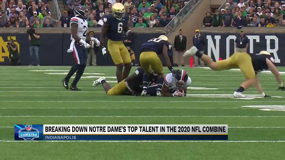 Analysis: Breaking down Notre Dame's top talent in the 2020 NFL Combine