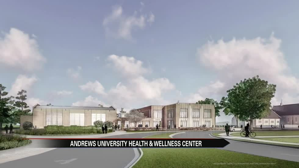 Andrews University breaks ground on new wellness center