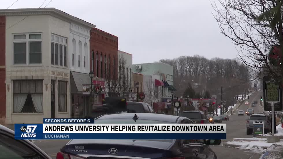 Andrews University helping revitalize historic downtown Buchanan