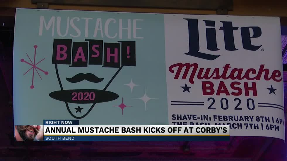 "Annual ""Shave-In"" Mustache Bash kicks off at Corby's"
