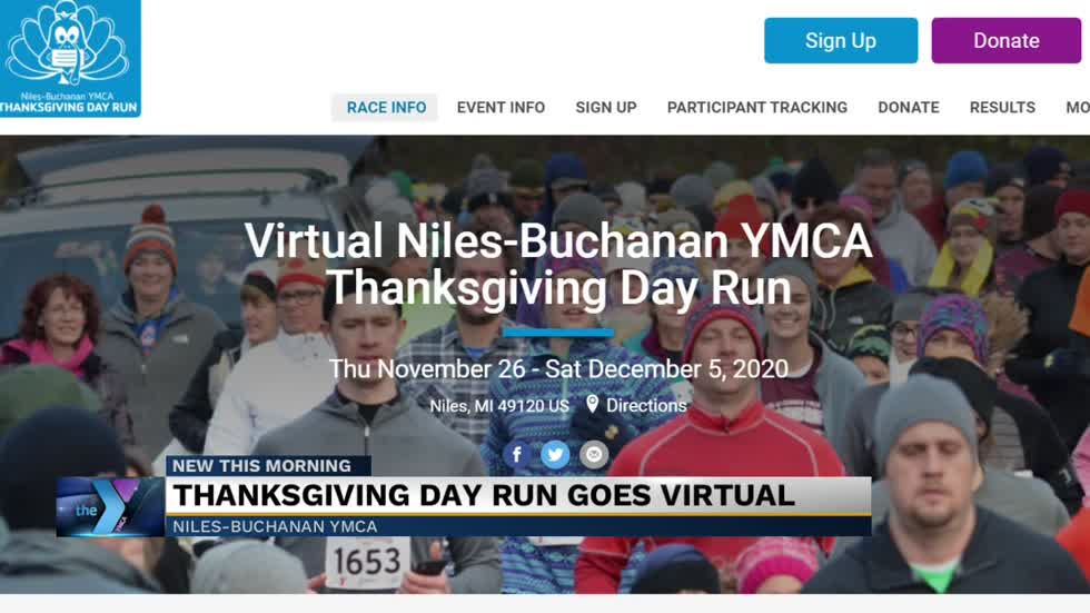 Annual YMCA Thanksgiving day run goes virtual