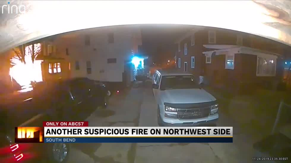 Another suspicious fire on northwest side