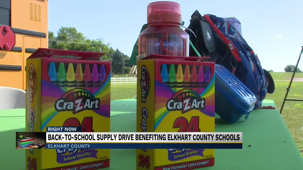 Anthem Blue Cross sponsors school supply drive held at 4-H fairgrounds