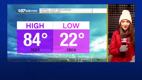 April cold and snow updates: did we set any records?